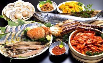 北海道 網走水産の海鮮丼
